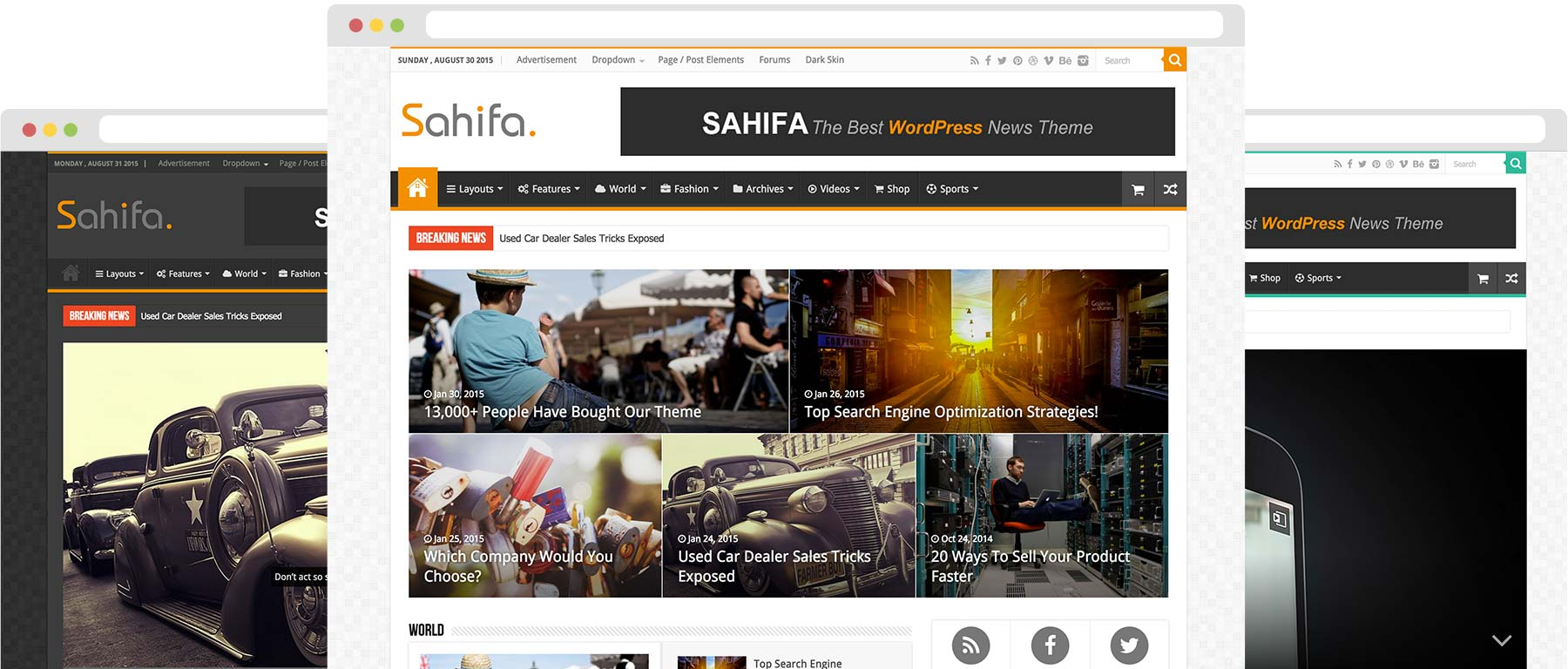 Sahifa Theme - TieLabs WordPress Themes