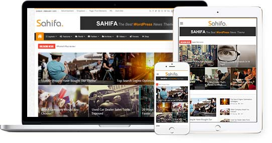Sahifa Theme - TieLabs WordPress Themes and Plugins